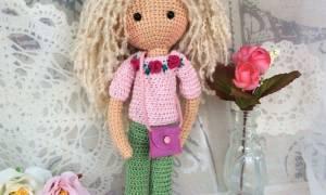 Кукла амигуруми крючком: схемы и мастер класс с видео