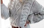 Вяжем женский свитер: схемы для начинающих