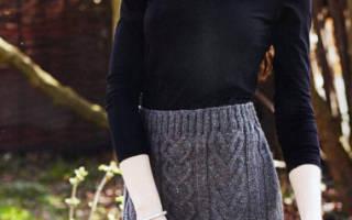 Юбка, вязанная спицами: схема и описание как делать для женщин
