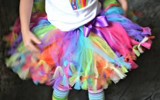 Как сшить юбку для девочки: выкройка и мастер класс своими руками