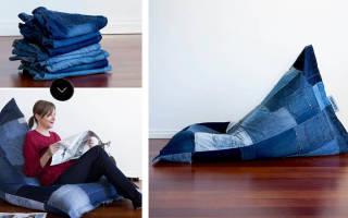 Как сшить кресло мешок: мастер класс с выкройками своими руками