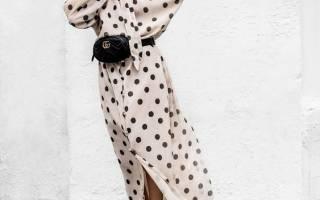 Фасоны платьев в горошек: какие существуют, идеальные сочетания