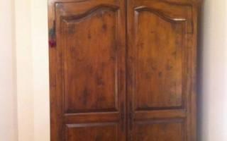Декупаж шкафа своими руками: фото и видео-мастер-классы