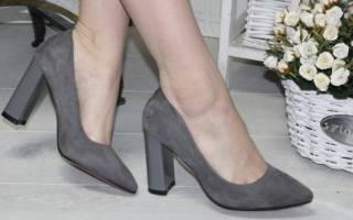 С чем носить серые туфли