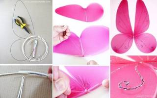 Костюм бабочки для девочки своими руками: как сделать, что нужно
