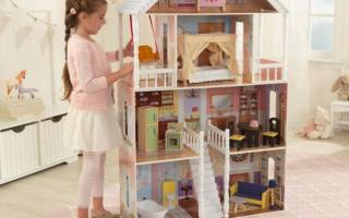 Домик для кукол своими руками: фото и чертежи