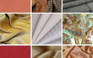 Виды ткани с названиями и фото: разбираем по способу отделки для шитья