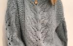 Белый вязаный свитер: вяжем женский и мужской по фото-подборке