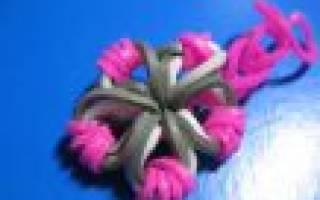 Как сплести из резинок игрушки: инструкция для начинающих и плетение 3д