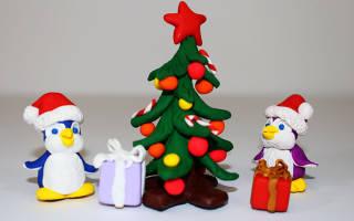 Как сделать елку из пластилина своими руками: новогоднюю и объёмную пошагово с фото