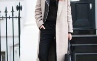 Сочетание пальто и кроссовок: фото, советы по составлению сочетаний