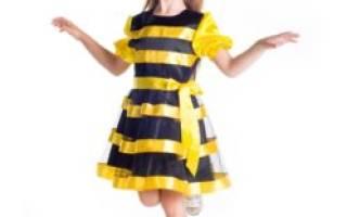 Костюм пчелки своими руками для девочки: фото и рекомендации