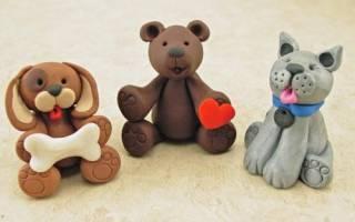 Игрушки из полимерной глины: мастер класс своими руками