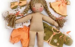Как сделать тряпичную куклу: мастер класс и выкройка для рукодельниц