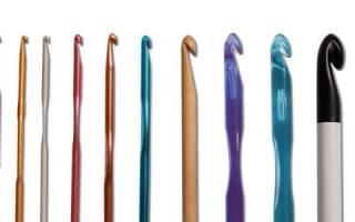 Как вязать воздушную петлю крючком: видео в статье