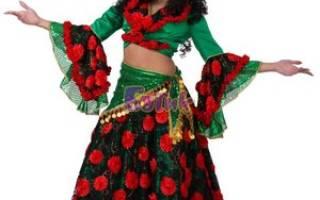 Цыганские костюмы своими руками: делаем для танцев по фото-подборке