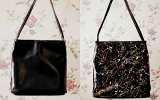 Как украсить сумку своими руками: черную, фото, способы декора