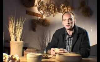 Плетение из корня: мастер класс своими руками и техника изготовления