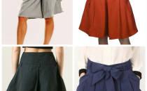 Как из юбки сделать шорты своими руками