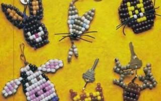 Схемы животных из бисера: мастер класс для начинающих