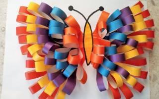 Аппликации в детский сад: делаем из цветной бумаги без клея и ножниц