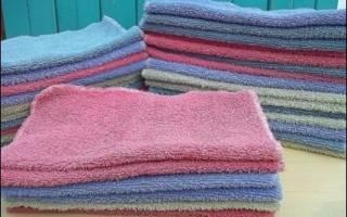 Что можно сделать из старых полотенец