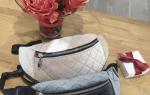 Выкройка поясной сумки: выкройка мужской поясной сумки, как сшить