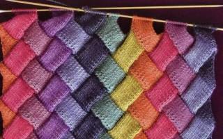 Техника энтерлак для начинающих (вязание спицами): описание как делать пошагово