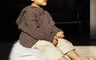 Детский полувер для мальчика: варианты с капюшоном