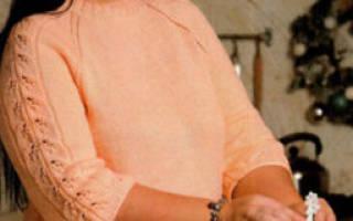 Ажурная кофта спицами: варианты для новорожденной девочки и варианты для полных женщин