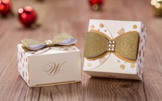 Бонбоньерки на свадьбу своими руками: мастер класс и шаблоны с фото