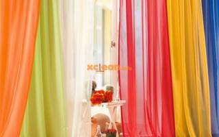 Как и чем покрасить тюль в домашних условиях