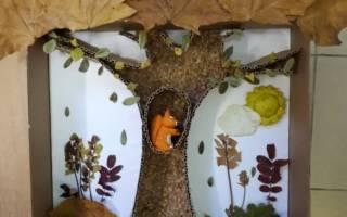 Поделки из природного материала своими руками на тему осень: фото поделок из листьев и шишек