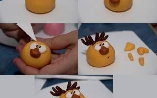 Как сделать смешариков из пластилина: как делать поэтапно с фото и видео