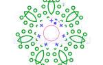 Вязание крючком цветов для начинающих: схемы и видео инструкция