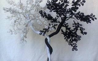 Дерево инь янь из бисера: как сделать своими руками, пошаговый мк