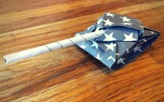 Как сделать из бумаги танк своими руками: оригами инструкция своими руками