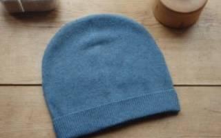 Шапка бини: выкройка, инструкция по шитью шапки бини из трикотажа