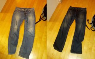 Краска для джинсовой ткани: универсальный краситель для разных вещей