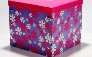 Декор коробки своими руками тканью: мастер класс по декорированию с видео