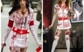 Костюм медсестры на хэллоуин своими руками: фото и рекомендации