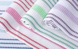 Как отстирать и отбелить кухонные полотенца