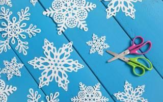 Ажурное вырезание из бумаги: схемы и новогодние шаблоны для начинающих