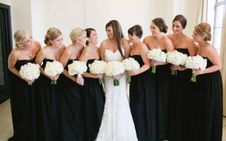Можно ли на свадьбу одевать чёрное платье: приметы и этикет