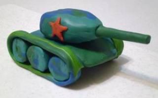 Как сделать танк т-34 из пластилина: танк тигр, ис 7 и ис5 поэтапно с фото