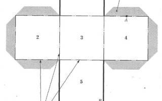 Как сделать куб из бумаги или картона: схема как сделать трансформер