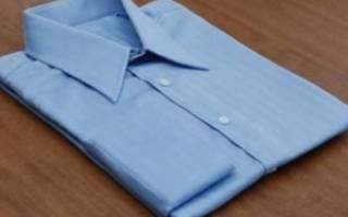 Как упаковать рубашку в подарок красиво и практично