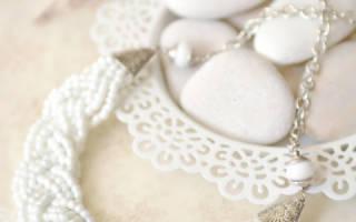 Ожерелье из бисера своими руками со схемами плетения, мастер-класс с фото и видео