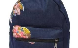 Рюкзак из старых джинсов своими руками: виды модных рюкзаков.