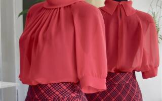 Как быстро сшить блузку без выкройки: делаем быстро и просто с видео